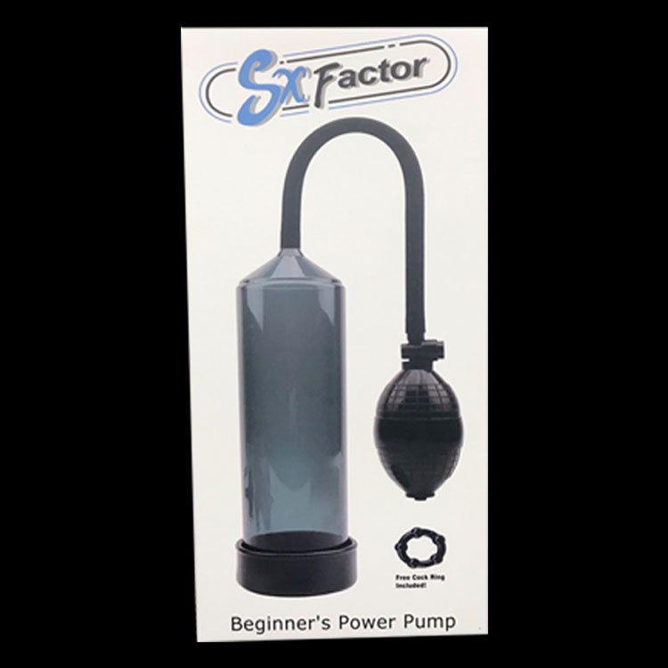 SX Factor Beginner's Power Pump - Black