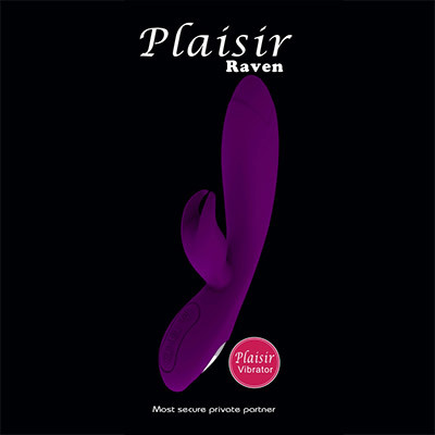 Plaisir Raven Rabbit Dildo