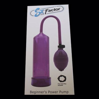 SX Factor Beginner's Power Pump - Purple