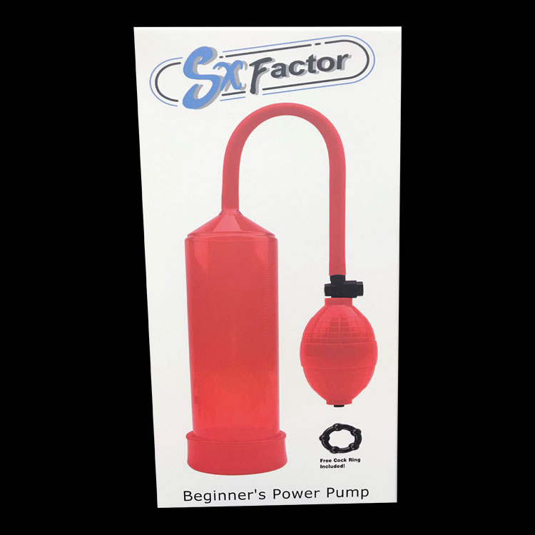 SX Factor Beginner's Power Pump - Red